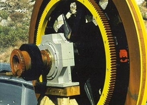 Main Haul Rope Drive Wheel